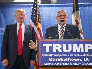 Trump might pardon former sheriff Joe Arpaio
