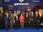 Angela Merkel spoke at a video game convention