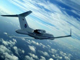 These planes fly into hurricanes to study them