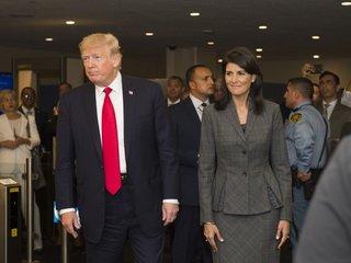 Trump gives major speech at United Nations