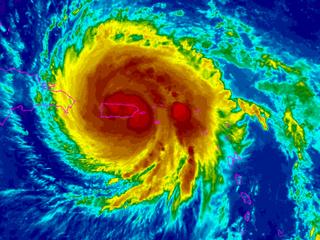 Hurricane Maria slams Puerto Rico