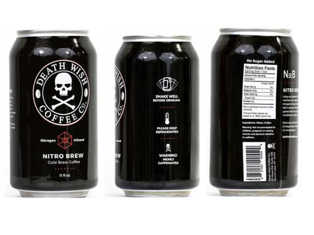 Death Wish recalls Nitro Cold Brew cans