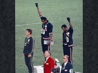 Before #TakeAKnee, it was a fist in the air