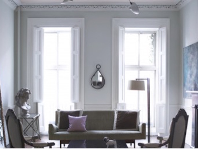 Benjamin Moore Living Room Grey