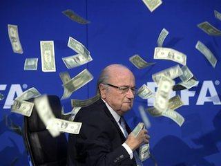 FIFA reports $122M loss in 2015