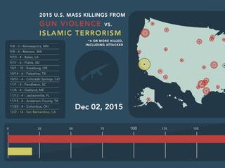 America's gun violence problem in 2015
