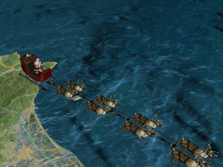 SANTA TRACKER: Follow St. Nick around the globe