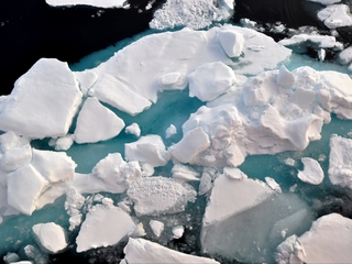 Arctic sea ice hits second lowest level ever