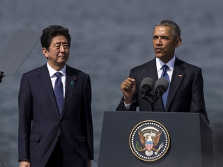 Obama and Japanese PM visit Peal Harbor