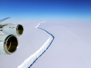 Larsen ice shelf could disintegrate again