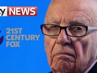 Fox's bid to buy out Sky TV in UK under scrutiny