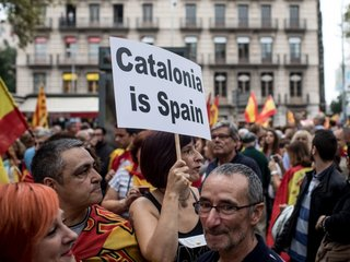 Spain suspects Russia meddling in Catalonia