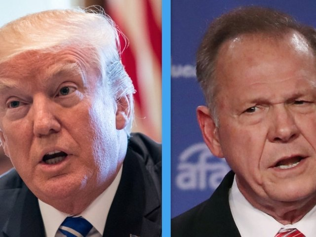 Trump won't campaign for Alabama candidate Roy Moore