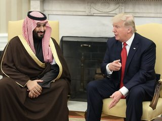Trump urges Saudis to lift Yemen aid blockade