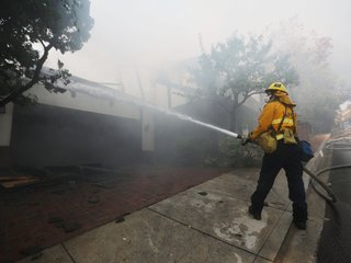 Skirball fire may have been man-made