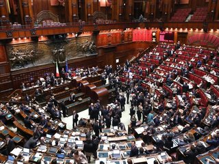 Italy's president dissolves Parliament