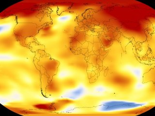 2017 was one of the hottest years ever