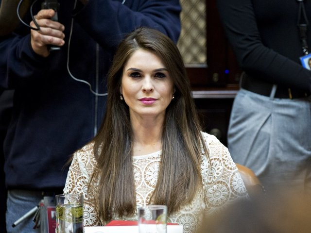 House Intel delays Hope Hicks interview in Russian Federation  investigation
