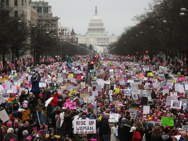 Anniversary of Women's March celebrated with continued action