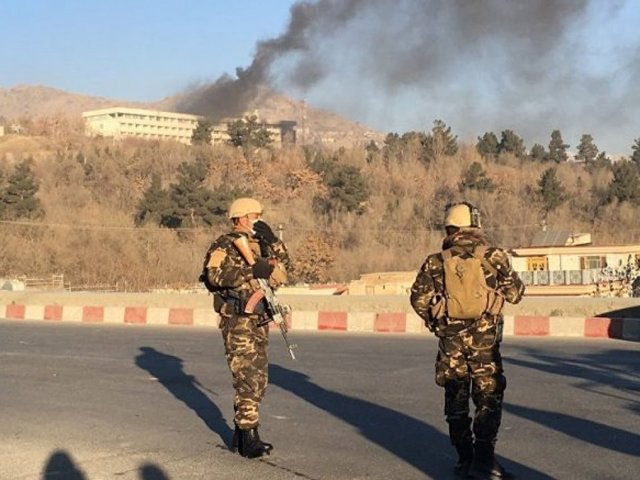 4 gunmen attack Kabul's Intercontinental Hotel, 2 attacker killed