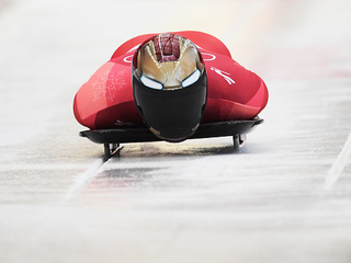 The coolest skeleton helmets from the Olympics