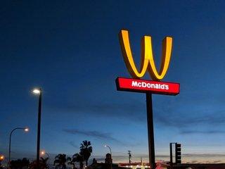 McDonald's flips logo for Women's Day