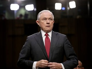 Sessions quiet on Cohen probe recusal