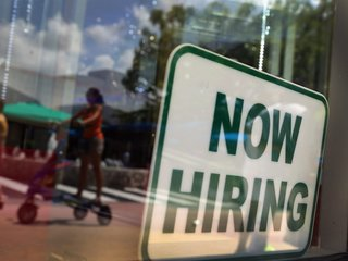 County's unemployment rate up to 8.7%