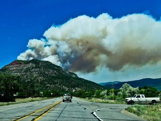 Colorado fire forces national forest to close