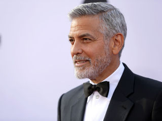 George Clooney involved in scooter accident