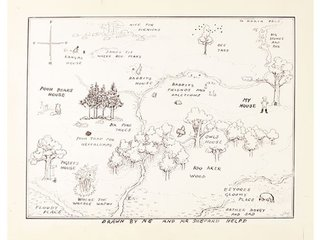 Winnie-the-Pooh map sells for record $570,000