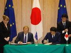 Japan, EU sign bilateral trade deal