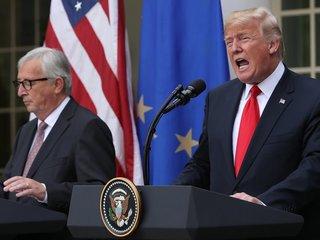 Trump announces deal with EU to suspend tariffs