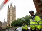 Man arrested after Westminster car crash