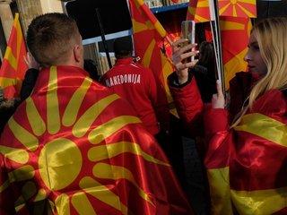 Mattis visits Macedonia ahead of vote