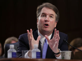 'Stop Kavanaugh' message on display at Emmys