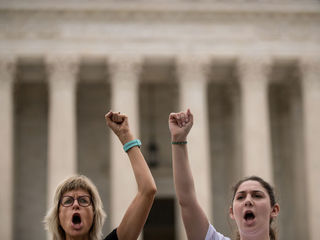 Photos: Protesters at Kavanaugh confirmation