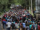 Migrant caravan closes in on Mexico border