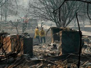CA rain will end fire threat, bring new ones